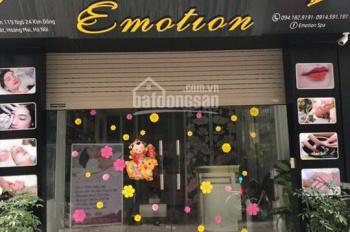 Cho thuê nhà 6 tầng ngõ phố Kim Đồng làm văn phòng, spa, buôn bán online