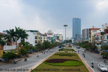 Bán nhà mặt phố Ba Đình, Vạn Phúc - Vỉa hè rộng Kinh doanh siêu khủng, lô góc - 103m2 giá 24.9 tỷ