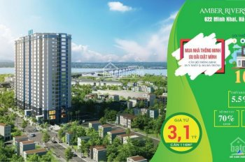 Bán căn hộ 3PN 106,4m2 chỉ 2,6 tỷ cách Times City 2p đi bộ hỗ trợ vay trả góp 0%L/S - 0961.8228.92