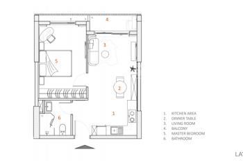 Bán căn hộ 1 PN 50m2 dự án Diamond Lotus Riverside - Thanh toán 60% - Nhận nhà tháng 6/2019