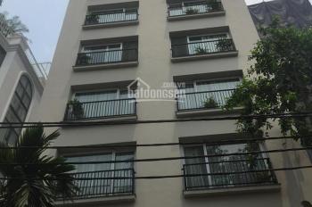Bán khách sạn 220m2 11 tầng có 52 phòng mặt phố Phạm Hồng Thái, Ba Đình