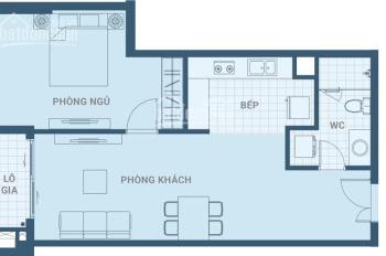 Hot nhượng lại căn 2PN, Ascent Plaza, DT 64.45m2, chênh lệch thấp chỉ 50 triệu LH: 0938919719