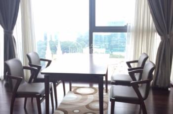 Cho thuê căn hộ 3 phòng ngủ Vincom Đồng Khởi, Quận 1, đủ nội thất, 163m2, giá 75 tr/th