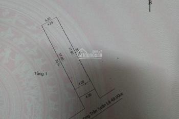Bán nhà cấp 4, kiệt 3m, đường Hà Huy Tập, cách kiệt ô tô 9m