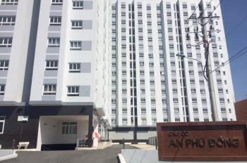 Cho thuê căn hộ chung cư An Phú Đông, đường Vườn Lài, giá 6 triệu/tháng, 60m2, 2PN, 2WC, tầng 9