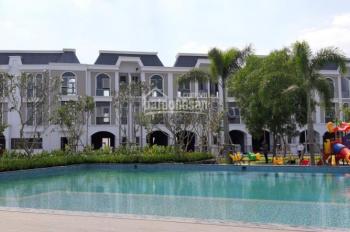 Biệt thự view hồ sinh thái, DT 6x15m ở khu chợ Xuyên Á, giá 2.5 tỷ/căn, MT Nguyễn Văn Bứa nối dài