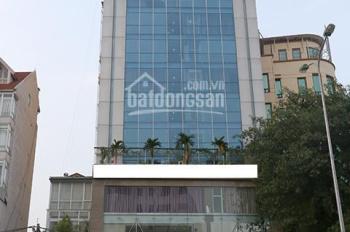 Vị trí quá đẹp bán tòa nhà mặt phố Nguyễn Văn Huyên 110m2 x 8 tầng thang máy, nở hậu. Giá 40.5 tỷ