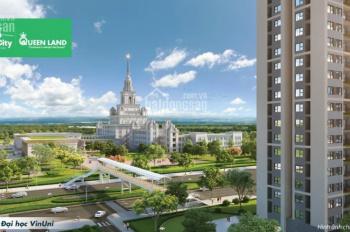 Bán căn hộ chung cư 2PN+1, 1WC P15 dự án VinHomes Ocean Park, View VinUni, LH: 0915 412 092