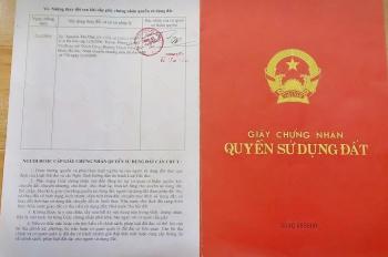 Bán đất sổ đỏ chính chủ phân lô ở Thạch Thất, giá chỉ 900tr