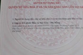 Bán đất B1 Hồng Phước, Liên Chiểu. Lh 0935599986