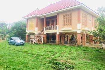 Bán 1.1ha đất, khuôn viên hoàn thiện, đã có nhà xây kiểu nhà sàn tại Yên Bài, Ba Vì, đã có SĐCC