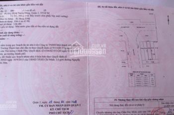 Mặt tiền Nguyễn Duy Trinh rộng 30m, Quận 2, vị trí kinh doanh 4x20m, sổ đỏ, giá 8,5 tỷ