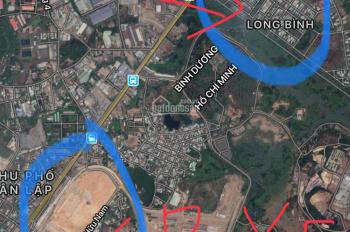 Bán đất KDC Long Sơn, P. Long Bình, Q9, kế bên bến xe Miền Đông và tuyến Metro. 3,3 tỷ/ 112m2