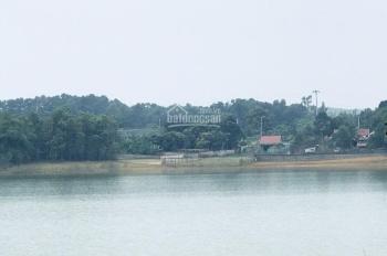 Bán lô đất mặt hồ Đồng Mô cực đẹp, giá rẻ, đường nhựa vào tận đất. Diện tích 2750m2