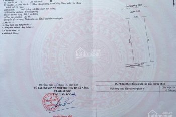 Bán lô đất mặt tiền đường Huy Cận phường Hòa cường Nam giá chỉ 4.2 tỷ