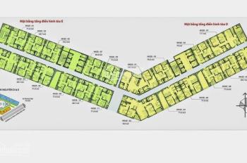Bán nhanh ! căn hộ 900 triệu, diện tích 68.7 m2, 2 PN, SĐCC, tại HH2 Dương Nội
