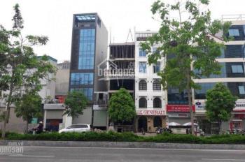Bán gấp nhà mặt phố Nguyễn Văn Huyên, 115m2, 9 tầng, MT 5.5m, vỉa hè rộng, KD ngày đêm, giá 41 tỷ