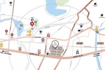 Ngoại giao dự án liền kề shophouse Central City, Cầu Lạc Trung, Uông Bí, 0869660645