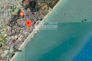 Bán 1771m2 góc 2 MT Thùy Vân, GP xây khách sạn, condotel, trung tâm thương mại