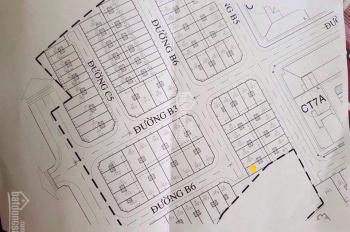 Bán lô đất VCN KĐT Vĩnh Điềm Trung, nằm trên đường B6 DT 89m2 ngang 5,25*17m, DTTT khoảng 100m2