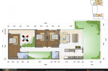 Bán căn hộ kèm sân vườn tại Golden Star, Nguyễn Thị Thập, Quận 7, DT 197m2, giá gốc CĐT