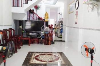 Bán nhà 1 lầu 1 trệt, 82m2, đường hẻm thông Đỗ Tấn Phong, gần UBND Tân Đông Hiệp, LH 09888.16.700