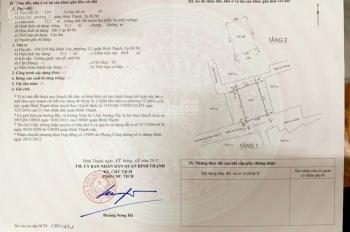 Bán nhà 4MT, 354/32/9 Bùi Đình Túy, P12, Bình Thạnh -DT: 4.5 x 7 -Sổ hồng, bao sang tên - 3,6 TỶ