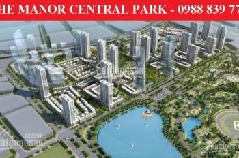 Bán biệt thự The Manor Central Park. 75m2 - 99m2 - 200m2. Tiềm năng đầu tư hấp dẫn. Giá từ 17 tỷ