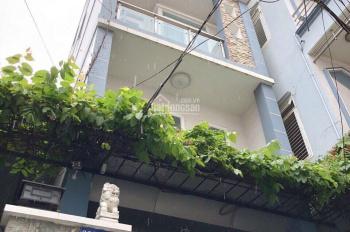 Nhà đường Trần Văn Khánh, p Tân Thuận Đông, q7 DT 5,4*10,5m 1T, 3 lầu ST 4PN, 4VS hẻm trước nhà 4m