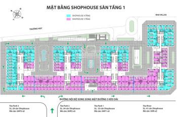 Cần bán căn shophouse ngoại giao dự án Eurowindow River Park, 159m2