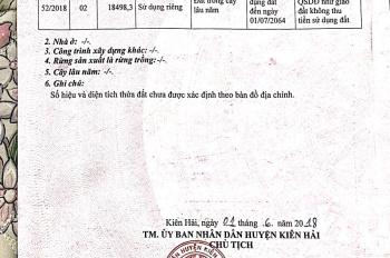 Cần bán 35000m2 đất Hòn Sơn, Huyện Kiên Hải, Kiên Giang LH: 0776543919