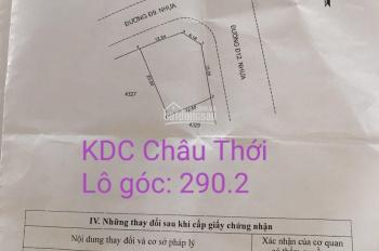 Bán đất KDC Châu Thới, Dĩ An, ngay chùa Châu Thới, KDC view cực đẹp, LH: 09888.16.700