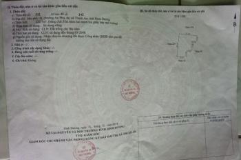 Cần tiền bán lỗ lô đất sổ chung (3 nhà 1 sổ) tại An Phú, Thuận An, BD,giá 390tr, lh 0983666777