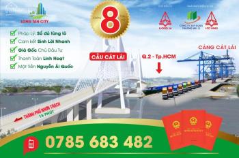 Khởi công sân bay Long Thành, cú hích cho thị trường đất nền Long Tân Nhơn Trạch, LH: 0785683482