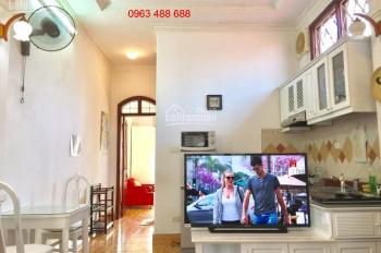 Cho thuê căn hộ đủ đồ Trần Xuân Soạn - Phố Huế, diện tích từ 35 - 45m2, giá 6 - 8 tr/th. 0963488688