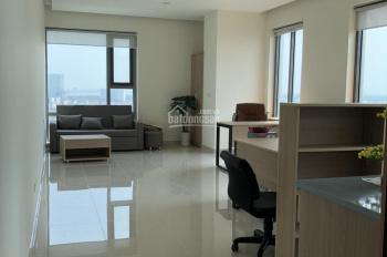 Thuê ngay căn hộ officetel 44m2. Vị trí 3 mặt tiền PMH, giá chỉ 15tr/tháng, full nội thất