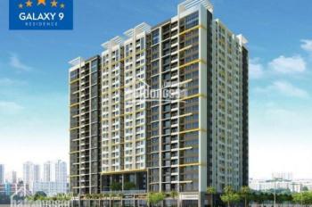 Bán căn hộ 1 phòng ngủ Galaxy 9, giá cực rẻ 2.6 tỷ, LH: 0708.63.02.63