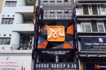 Bán nhà mặt tiền đường Hai Bà Trưng, p6, q3 hầm + 10 tầng thang máy giá chỉ 120 tỷ LH 0911727789