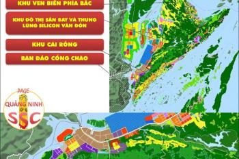 CC bán 5054m2 đất biệt thự nghỉ dưỡng tại Vân Đồn, giá 5 triệu/m2, SĐCC. LH 0986284034