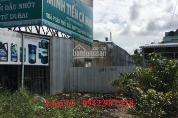 Bán đất thành phố Cà Mau 195m2, mặt lộ 1A