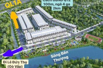 Nhà Phố shophouse nhà phố Pier IX, UBND Q12 giáp Lê Đức Thọ Gò Vấp 2 mặt sông. LH 0945.949.268