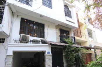 Cho thuê nhà nguyên căn 1 trệt 3 lầu 4,5x12m, 4PN full nội thất đường Yên Thế