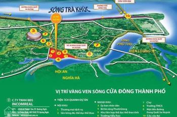 Đất nền view sông đầu tiên ở Quảng Ngãi - Giá rẻ nhất thị trường - Sổ hồng từng nền - Lợi nhuận cao