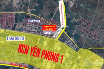 Mở bán 15 lô nền shophouse kinh doanh: An Bình - Ấp Đồn - Yên Phong, hotline: 0906 232 881