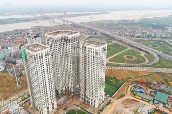 Bán căn 2PN, 82m2 tầng 27 view cầu Nhật Tân, Sông Hồng siêu đẹp, nhận nhà quý II/2019, giá 3.2 tỷ