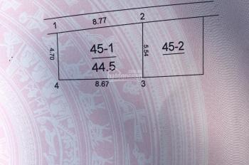 Chính chủ bán nhanh 44,5m2 đất có nhà 2 tầng sẵn tại Ngọc Chi, Vĩnh Ngọc vị trí hot nhất đông Anh