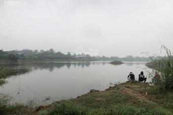 Bán 2100m2 đất mặt hồ xã Hòa Thạch, huyện Quốc Oai, giá 1,4 triệu/m2