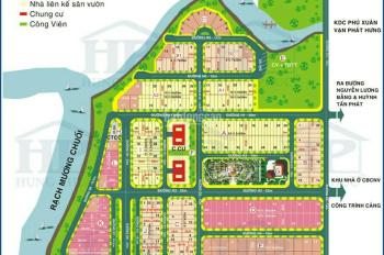 Bán đất nền Phú Xuân Vạn Hưng Phú, giá từ 19tr/m2