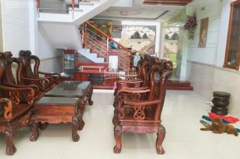 Nhà cho thuê 5x20m, 1 lửng, 3 lầu, 6pn, hẻm 10m thông Phan Huy Ích, giá 25tr/th