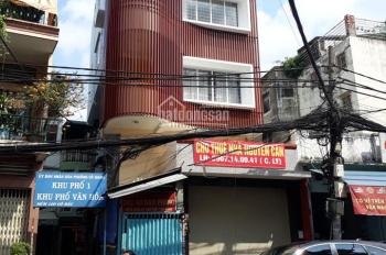 Cho thuê nhà mặt tiền đường Cô Bắc gần Trần Hưng Đạo, 6x14m, 1 trệt 1 lửng 3 lầu. Giá 58tr/th